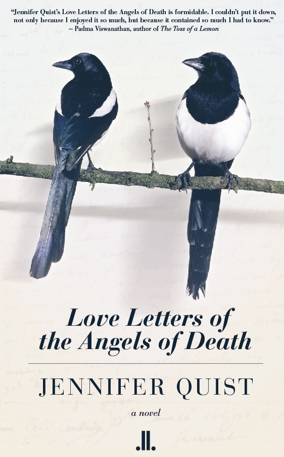 "The Cover of ""Love Letters of the Angels of Death"""