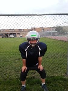 Big Mic in his practice gear