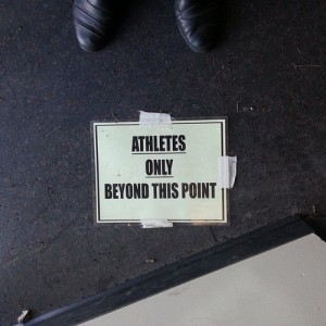 athletes only