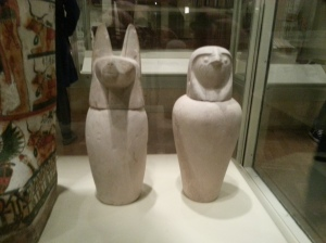 Canopic Jars at the Royal Ontario Museum