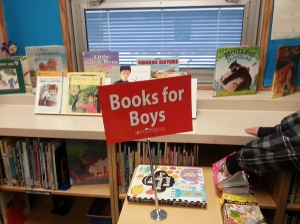 Groaner at the Scholastic Book Fair
