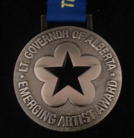 The Lieutenant Governor of Alberta Emerging Artist Award