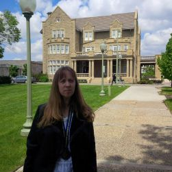 Me at Government House , Edmonton, Alberta