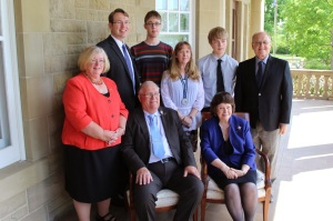 My Family and the Lieutenant Governor