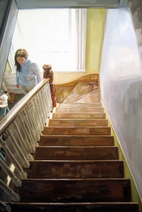 Back Stairs, by Heather Horton
