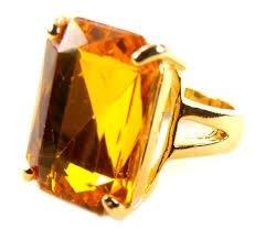 Big Ole' Yellow Ring