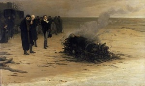 The Cremation of Percy Bysshe Shelley