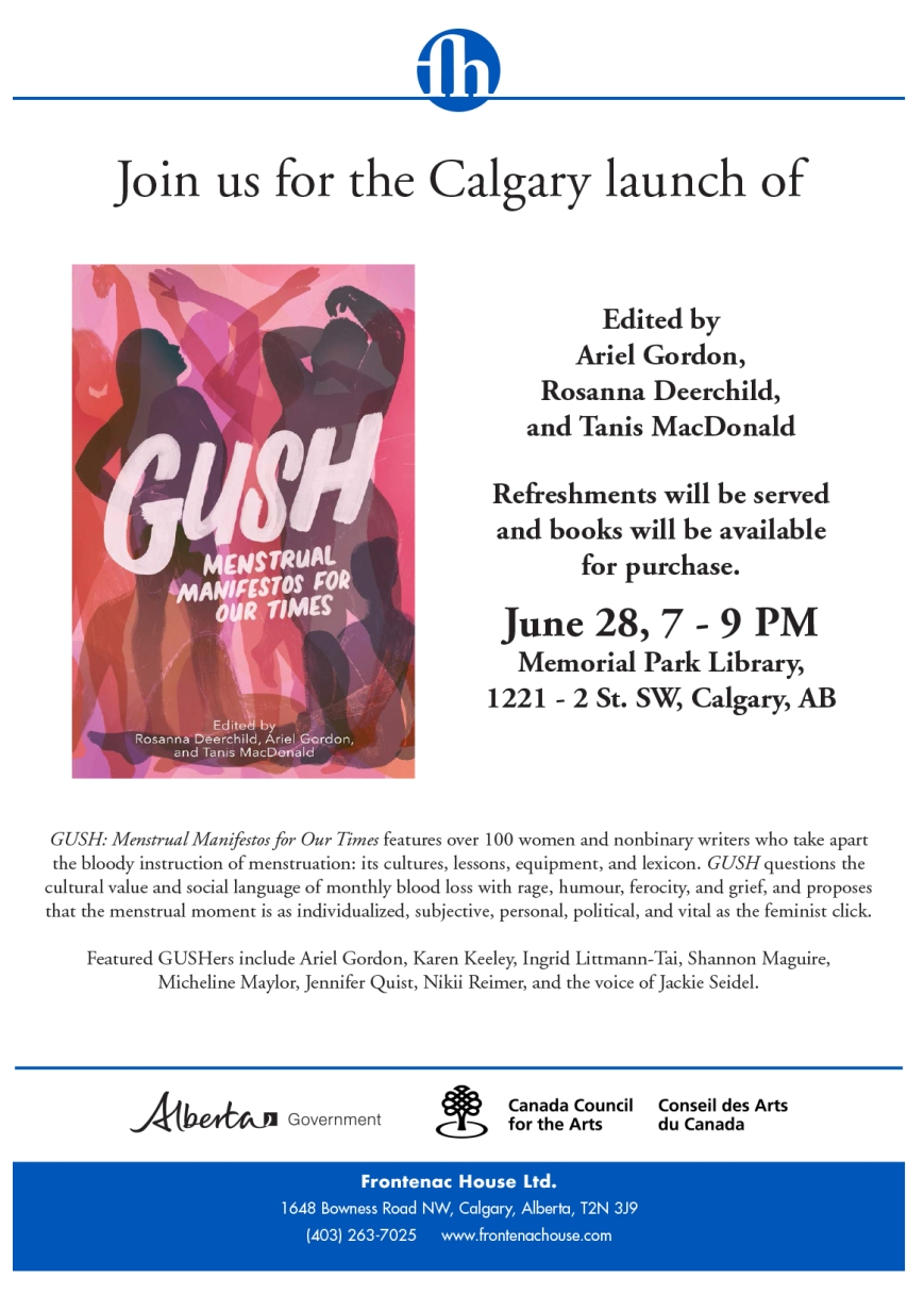 GUSH YYC launch flyer